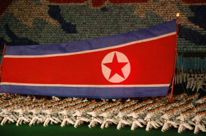 A nationalist dance performance during North Korea's annual Arirang Mass Games in Pyongyang. Photo courtesy (Stephan)/Flickr
